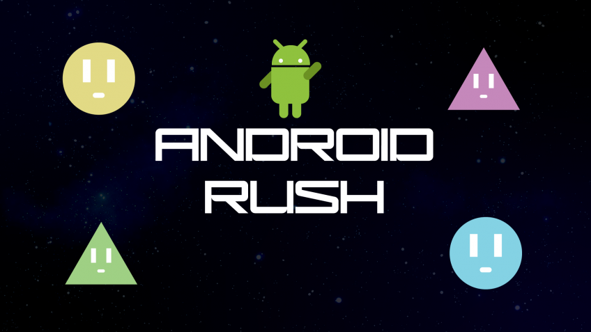 Android Rush – Game Development