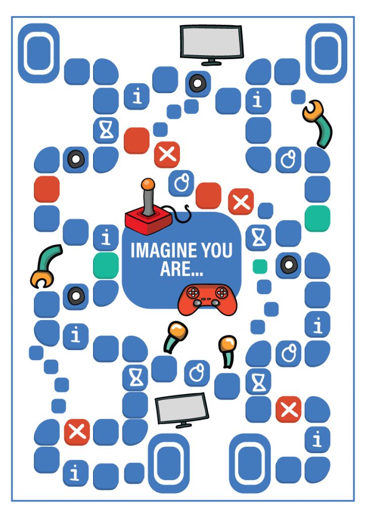 Imagine you are a board game