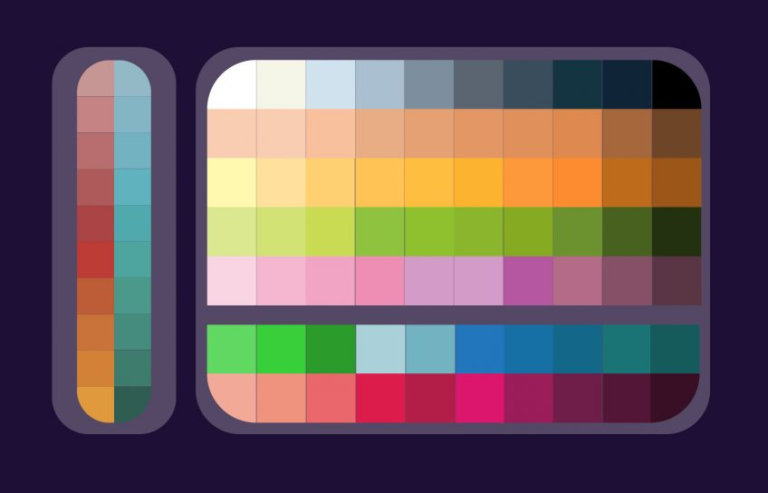 Kozmobot Color Palette