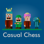 casual chess game picture