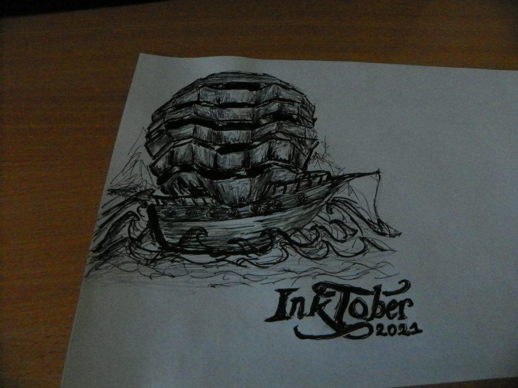 inktober day 3